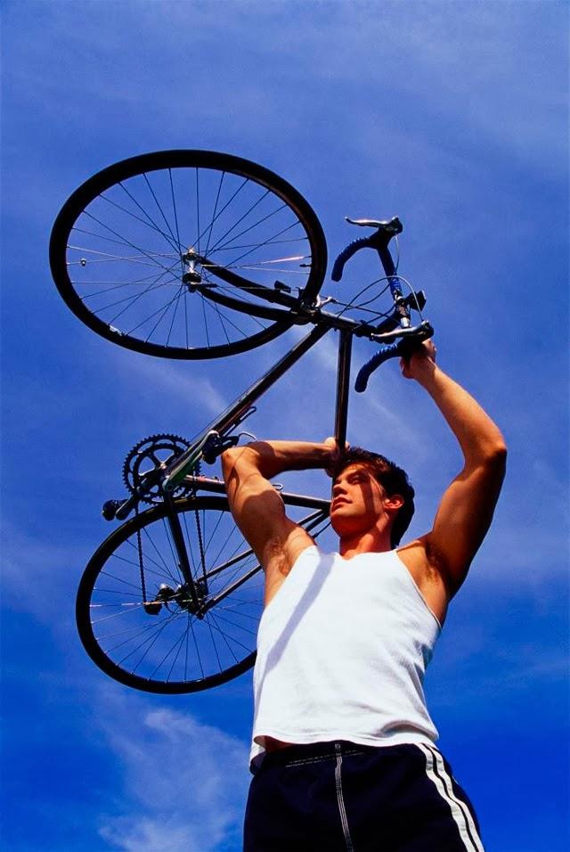 велосипед против вредных привычек
