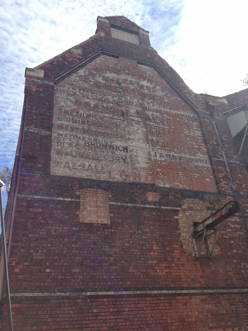 Ghost sign, Gloucester Docks