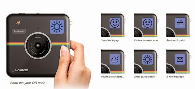 Polaroid Socialmatic Camera - CES 2014