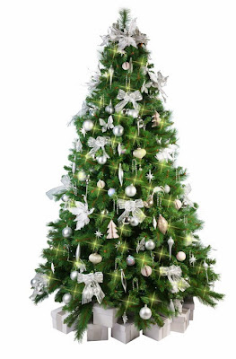 Beautifully decorated Xmas Tree for Christmas