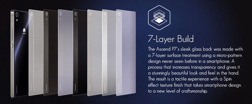 Huawei Ascend P7, smartphone, specs
