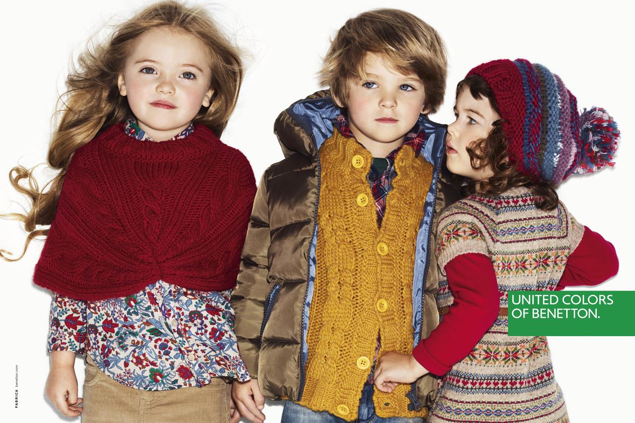 benetton kids fw12 campaign fashionopher