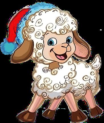 Новогодние козы и овечки