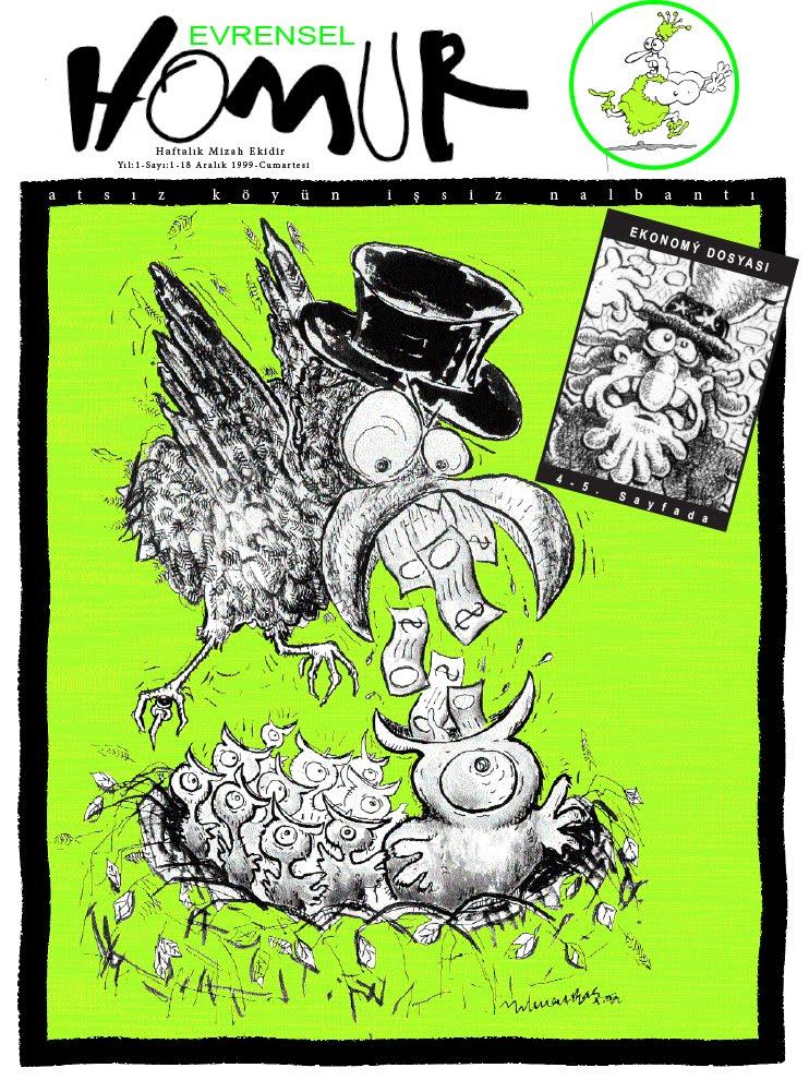 İLK SAYIMIZ 18 Aralık 1999