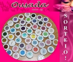 259 SORTEIO DOCE CABANNA + OUSADA MAKE UP