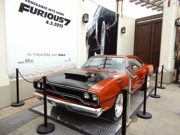 Furious 7 1970 Roadrunner movie car