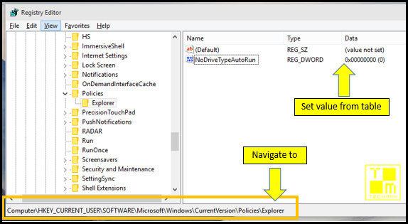 registry editor regedit windows10