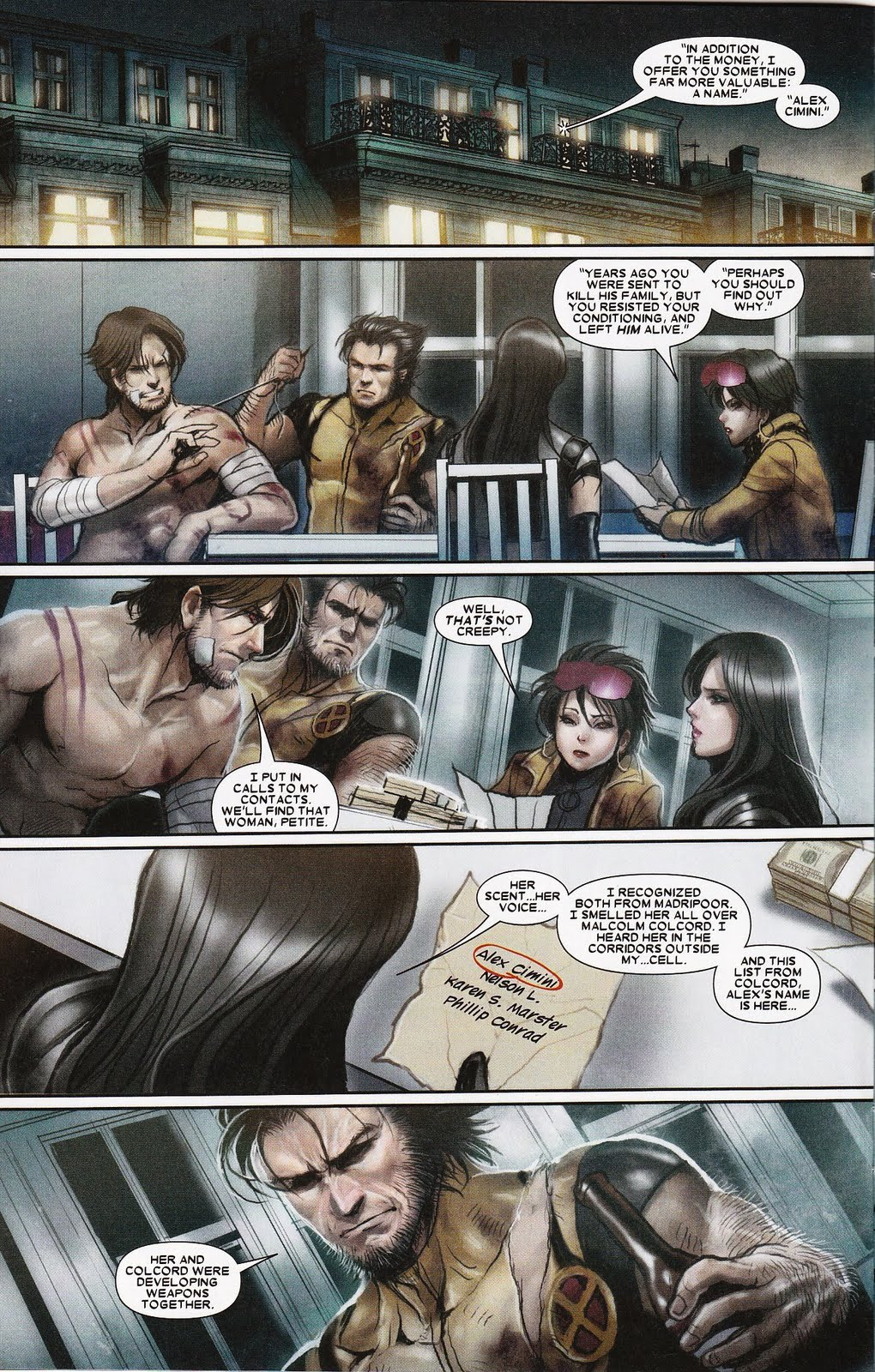 x 23 And Gambit x 23 12 Gambit Scans
