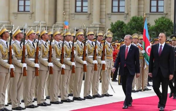 Эрдоган в Баку