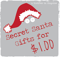 http://thrifterindisguise.blogspot.com/2013/11/secret-santa-saturday-gifts-for-dollar.html