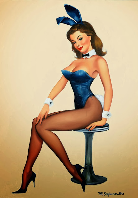Pin up Bunnies by Fiona Stephenson