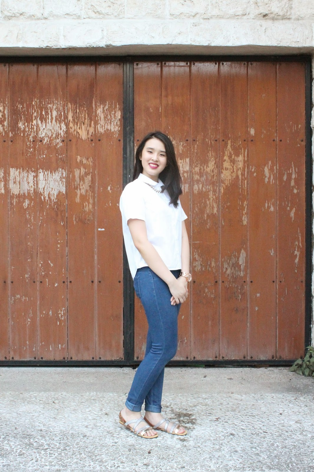 Fashion: Starting from Scratch (white and denim)