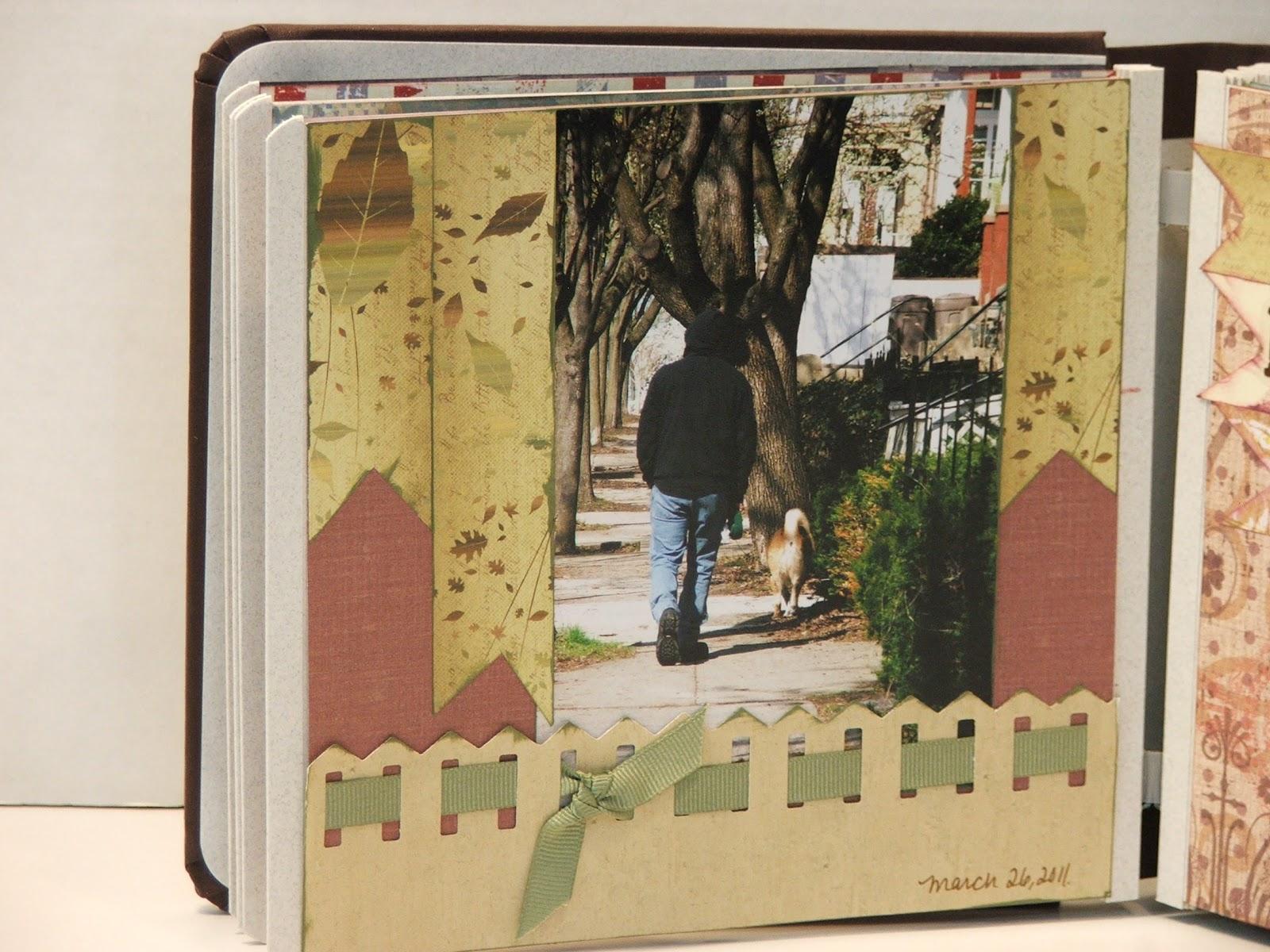 Scrapbook ideas creative memories - Highlights From A Small Creative Memories Album Using Border Maker System