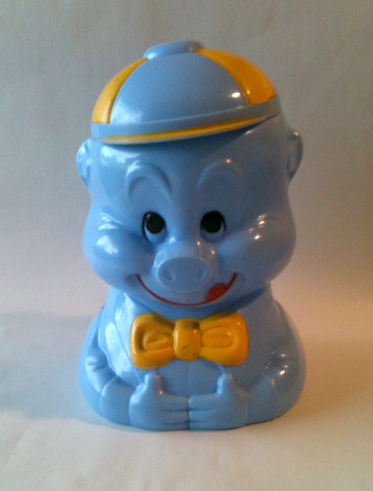 Judy Westcott 1940s Celluloid Cookie Jar