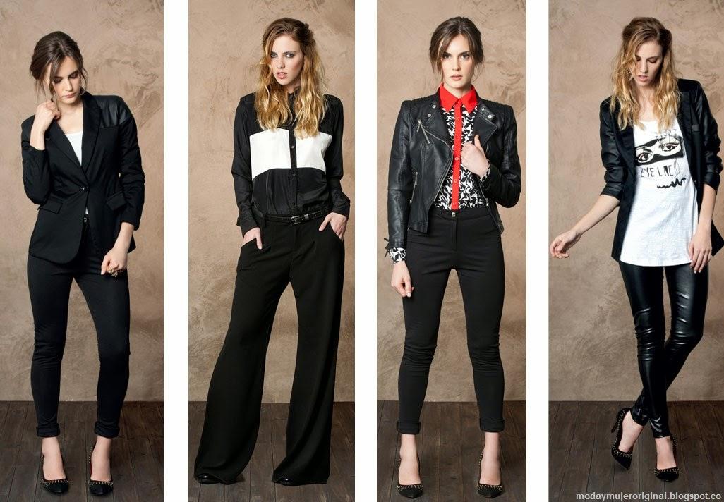 pantalones chaquetas etc negro