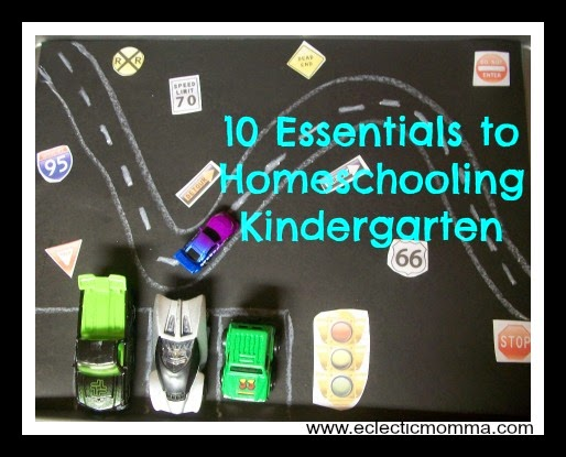 http://www.eclecticmomma.com/2014/07/10-essentials-for-homeschooling.html