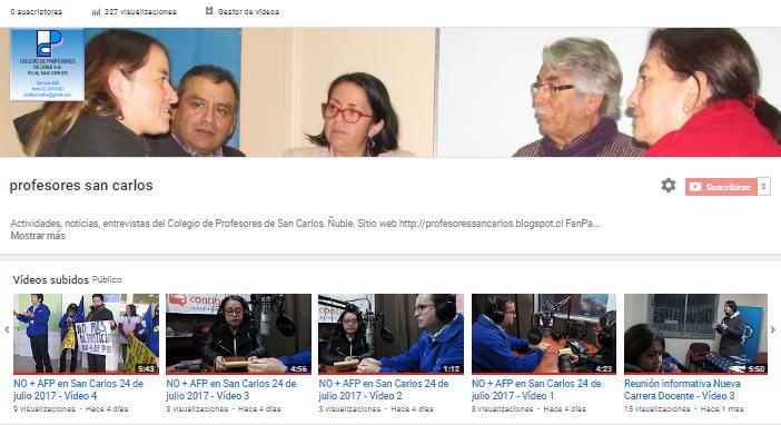 Vídeos del Comunal San Carlos