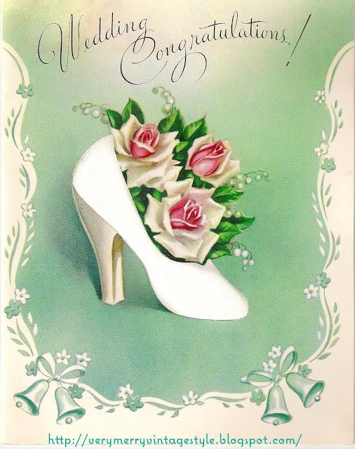 Винтажные открытки для свадьбы 907