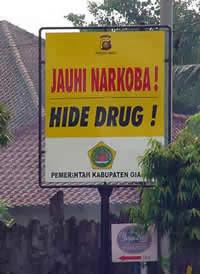 Indonesian translation error funny