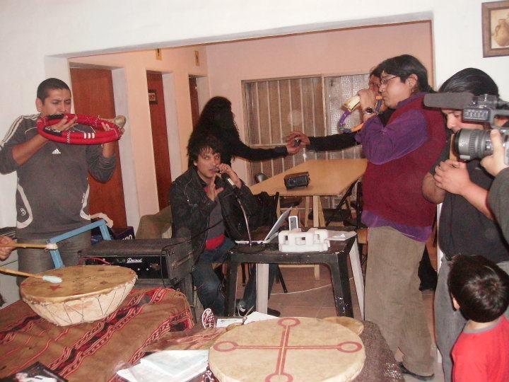 Sonando nuestros instrumentos Mapuche