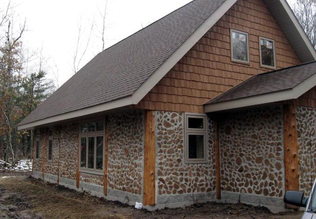 Cordwood Construction Insulation : Whatsgoingon cordwood home design