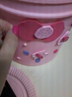 caixinha rosa fofa