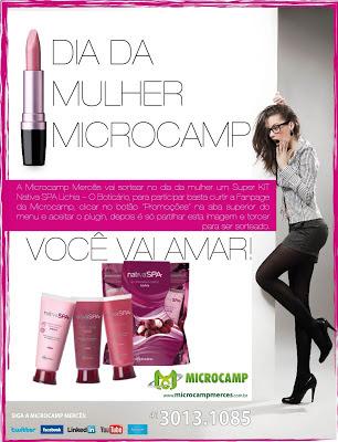 dia da mulher microcamp