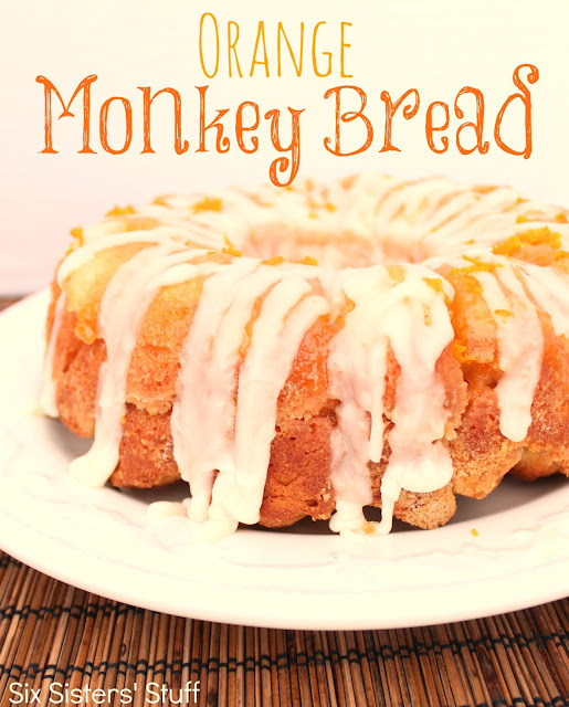 Orange+Monkey+Bread+Recipe Monkey Bread Round Up (Sweet)