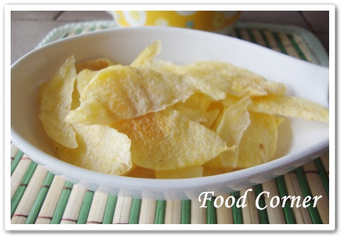Quick and easy Microwaved Potato Chips
