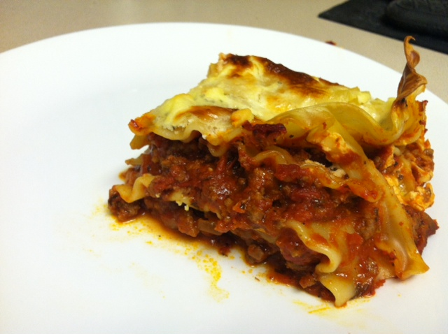 Good Morning, Sweetums.: World's Best Lasagna