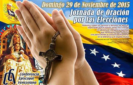 Jornada de Oración por las Elecciones