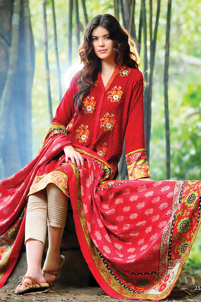 Lakhany Silk Mills Shawal Collection For Women