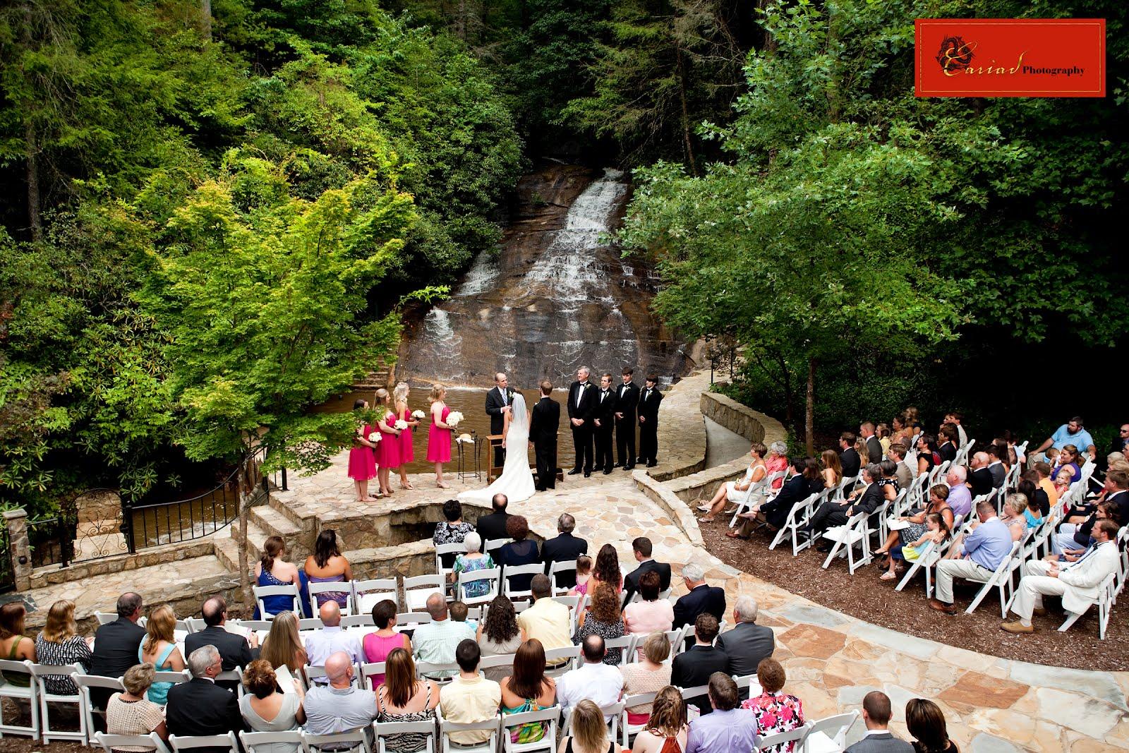 Waterfall Wedding On Pinterest