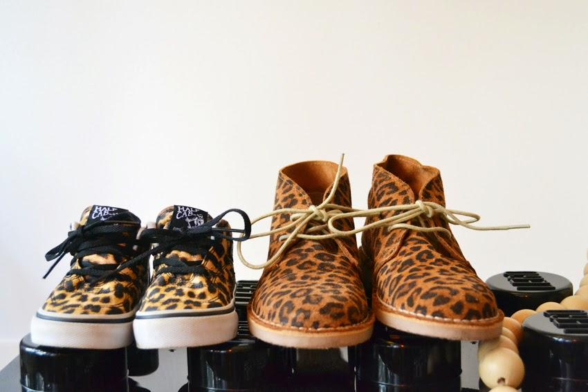 vans schoenen panterprint