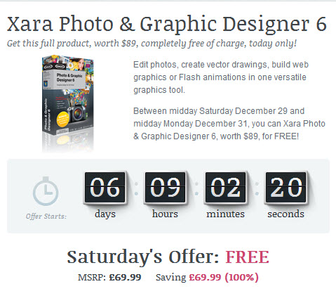 [Giveaway] Xara Photo & Graphic Designer 6 | worth $89