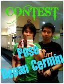 """1st Contest Dari xcyber : Pose Depan Cermin"