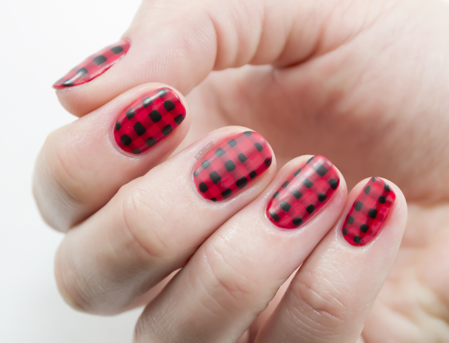Matte Fall Picnic Plaid