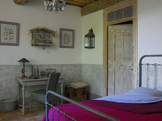 escritorio del dormitorio casa provenza