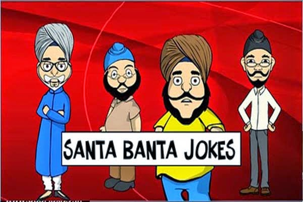 Santa Banta Jokes 140 Words