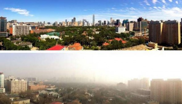 Beijing Sees Blue Skies After Banning 2.5 Million Cars