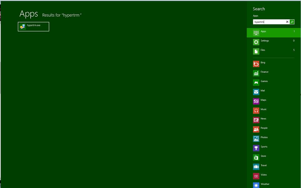 microsoft hyperterminal terminal emulation software