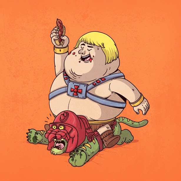 He-Man con sobrepeso