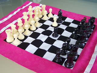 Fabric Chessboard Set
