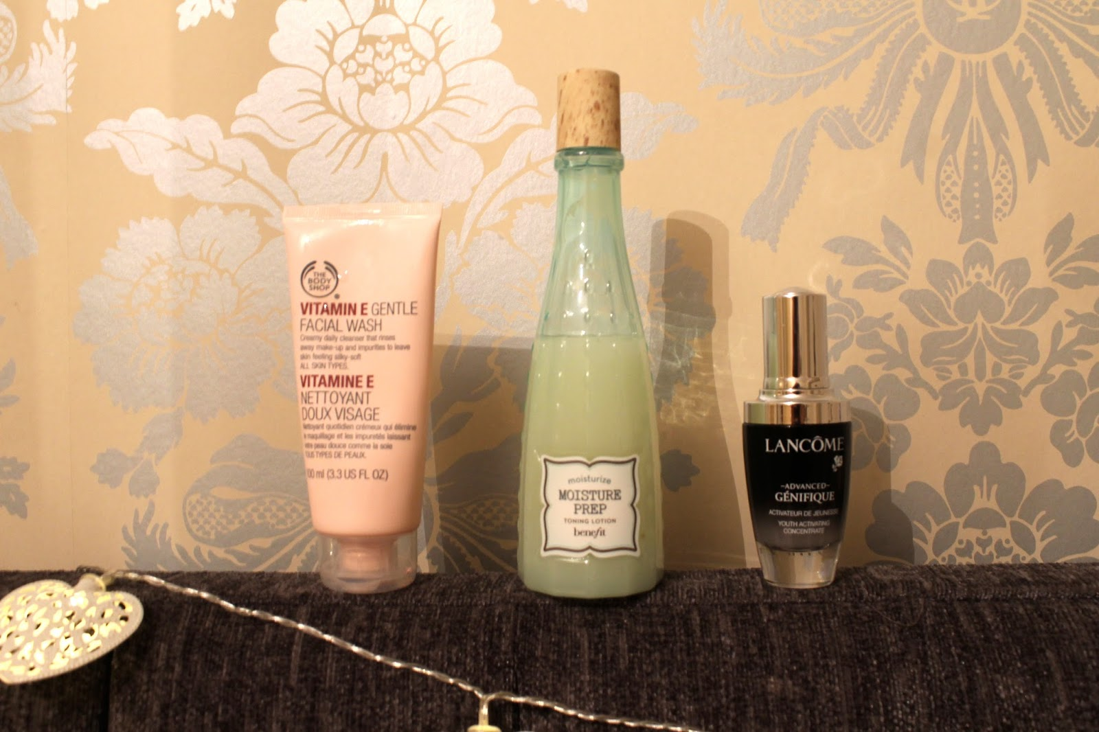 Bec Boop morning skincare products blog