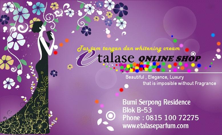 ETALASE ONLINE SHOP