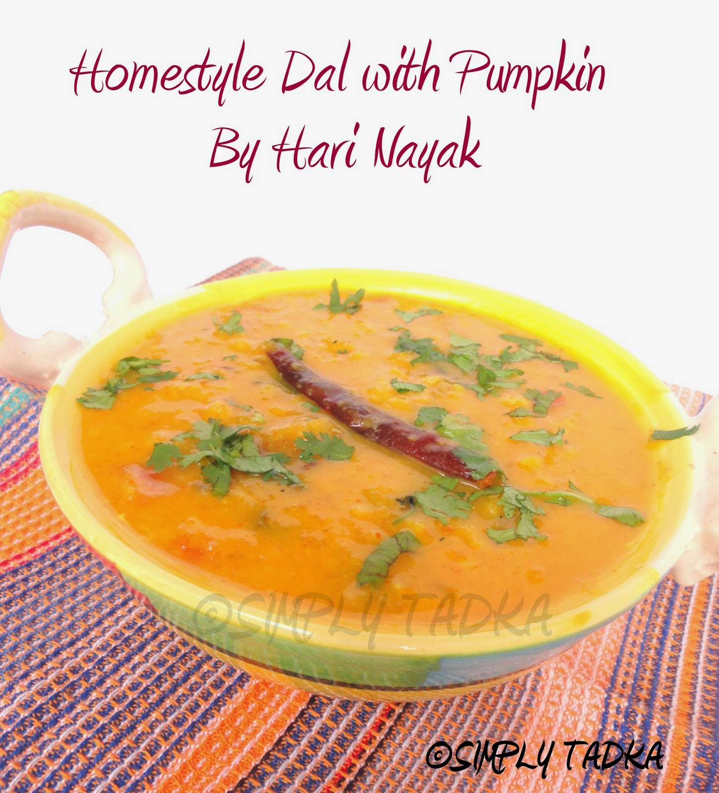 how to cook pumpkin trini style