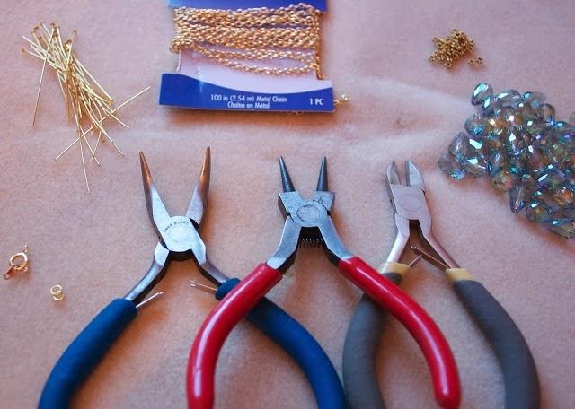 طريقة صنع عقد بالخرز