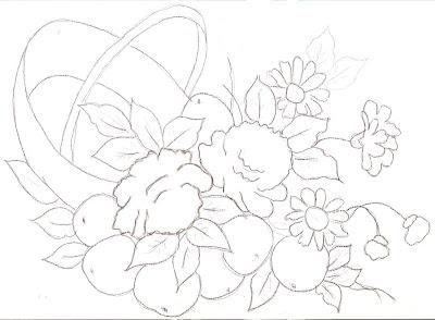 المخاطرة لرسم الورود والبرتقال والبابونج