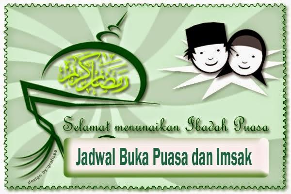 Jadwal Imsakiyah 2014 dan Buka Puasa Ramadhan 1435H
