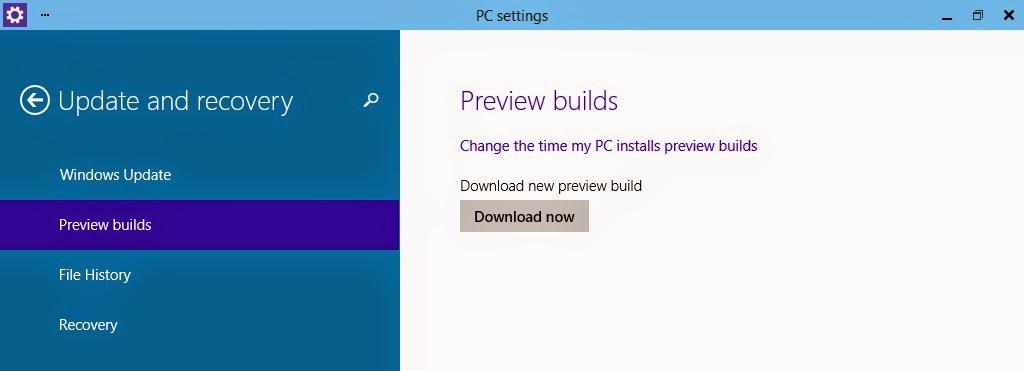 Cara Update Windows 10 ke Build 9860